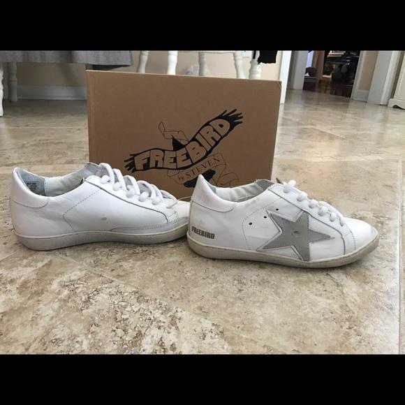 f2d9ce3fad2 ✨NWT Freebird by Steven 927 White Sneaker SZ 9✨